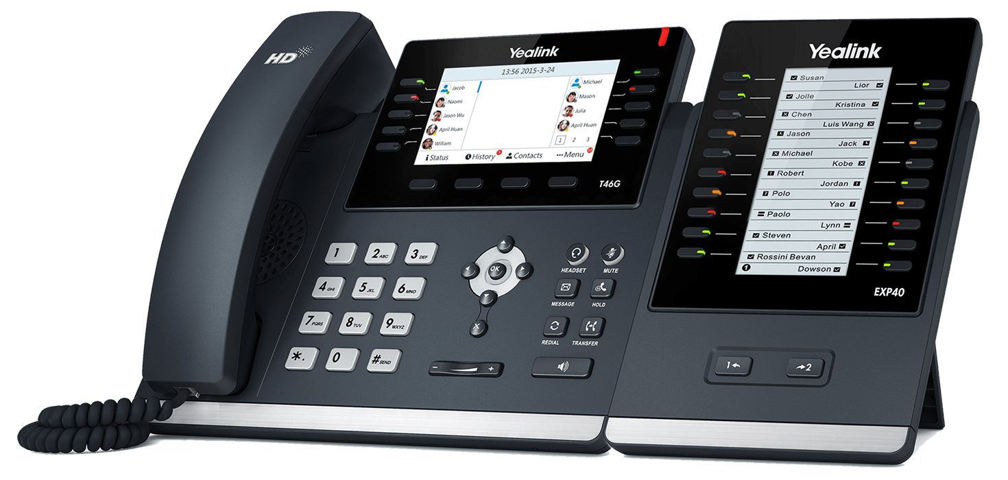 Cheap business calls through SiP trunks with a Yealink phone